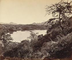 Mount Abu, the Nakhi Talao, &c., from the west